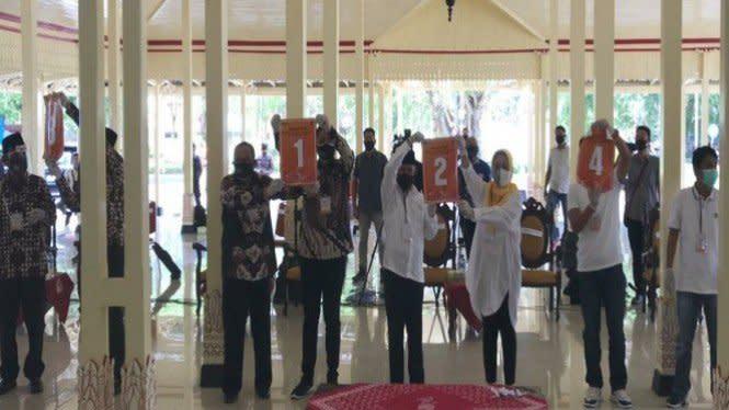 Bawaslu Gunung Kidul: Semua Calon Langgar Prokes Kampanye Tatap Muka