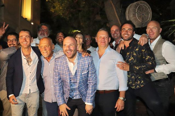 <p>The likes of Nigella Lawson, Shannon Bennett, Manu Feildel, Alastair McLeod, Matt Moran, and co-judges, Matt Preston and Gary Mehigan were all in attendance. Photo: Instagram/travismcauley </p>