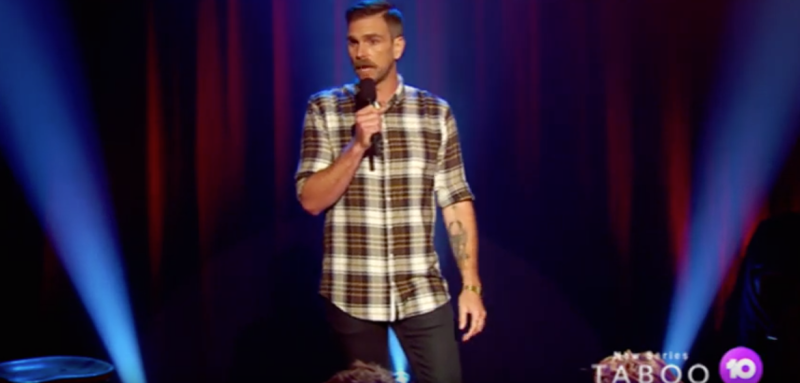 Comedian Harley Breen uses comedy to make people more aware about terminal illness, death, racism, mental health in Channel Ten show Taboo premiering June 13