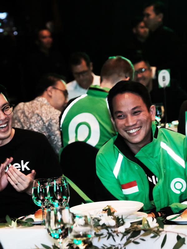 Co-CEO Gojek Kevin Aluwi dan Andre Soelistyo. Dok: Gojek