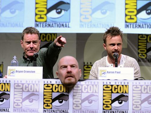 'Breaking Bad' at Comic-Con: That Guy Dressed Up as Walter White Might Actually Be Bryan Cranston
