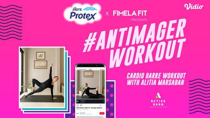 Serunya #AntiMager Workout bersama Her Protex dan Trainer Active Barn, Alitia Marsaban