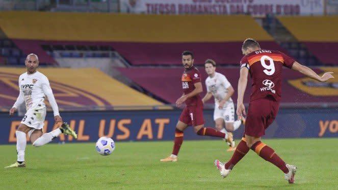 Pertandingan AS Roma vs Benevento