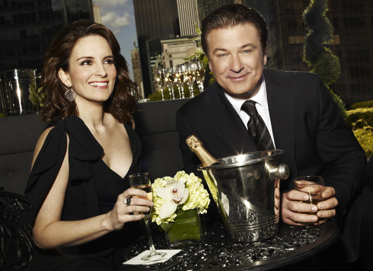 Jack Donaghy and Liz Lemon (30 Rock)