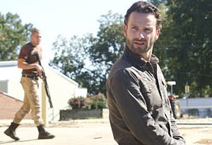 """The Walking Dead's Andrew Lincoln on Rick vs. Shane: """"Not Everybody Gets Out Alive"""""""
