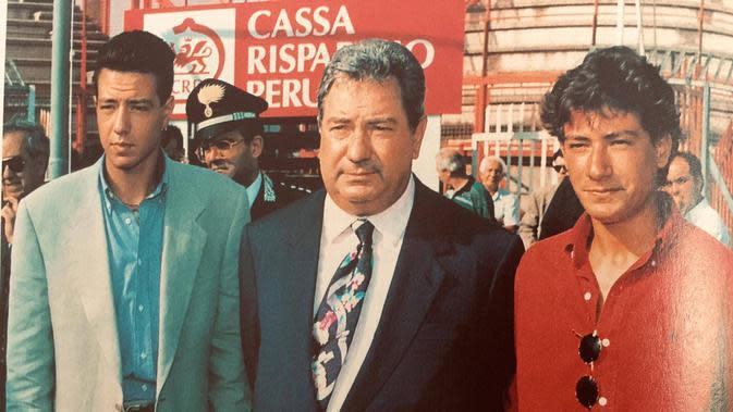 Luciano Gaucci (tengah). (Dok. Umbria24)