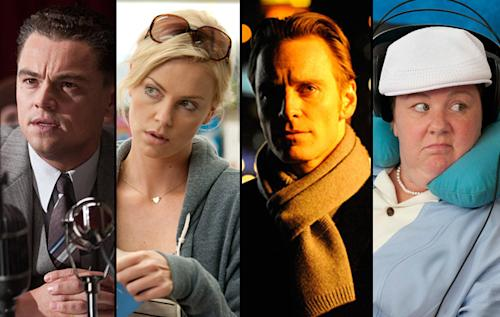 Screen Actors Guild Snubs Michael Fassbender, Albert Brooks, Charlize Theron; Loves Brad Pitt, George Clooney, Michelle Williams, Glenn Close and 'the Help' Stars.