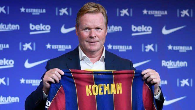 Ronald Koeman Tegaskan Tidak Punya Masalah dengan Messi