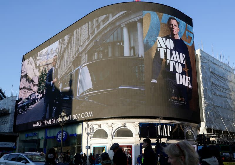 New James Bond movie delayed, crushing hopes for 2020 cinema rebound
