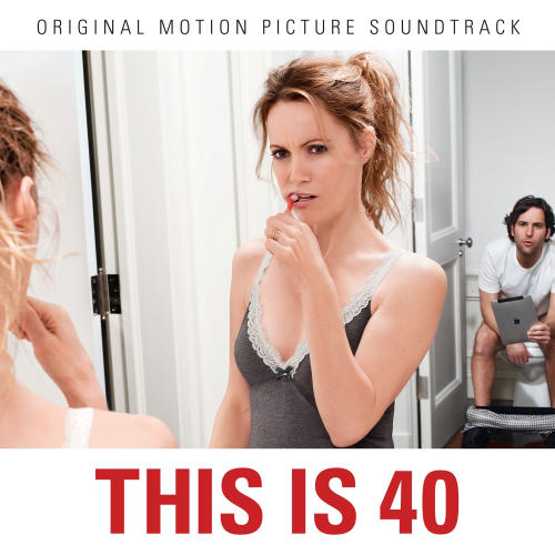 "This undated publicity photo provided by EMI Music shows the soundtrack album cover of the film, ""This Is 40."" (AP Photo/EMI Music)"