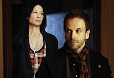 Jonny Lee Miller takes on Sherlock Holmes on CBS's 'Elementary'