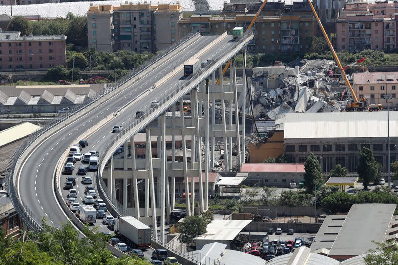 Timeline: Two years on, Atlantia's fate in the balance over bridge collapse