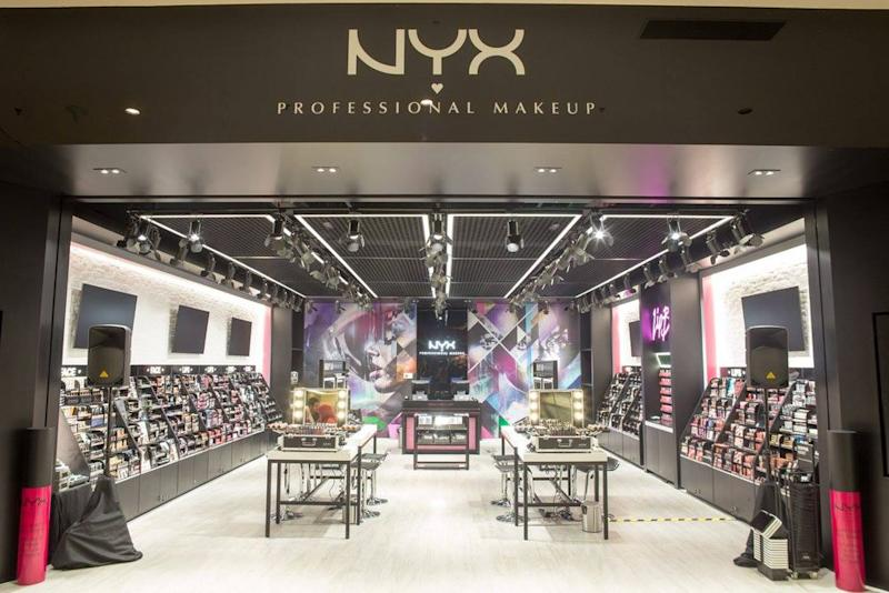A photo of NYX Cosmetic's flagship store in IOI City Mall store in Putrajaya. — Picture from Facebook/nyxcosmeticsmalaysia