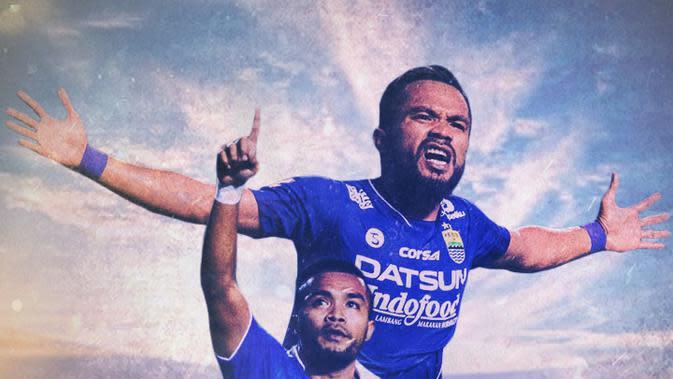 Persib Bandung - Zulham Zamrun Selebrasi (Bola.com/Adreanus Titus)