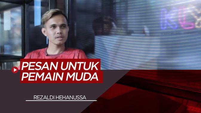 VIDEO: Pesan Rezaldi Hehannusa, Pemain Muda Terbaik Liga 1 Indonesia untuk Pemain Muda di Persija