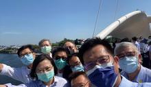 國旅夯!高雄大港橋七月落成已40萬人造訪 林佳龍揪總統自拍留念