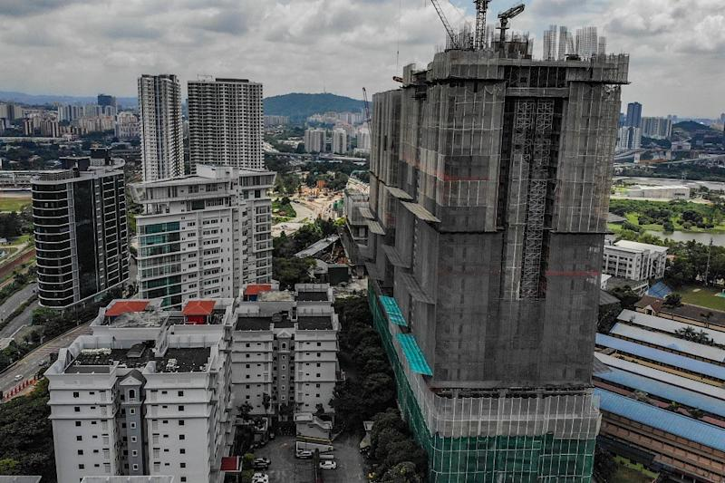 General view of Phase 1 of The Address condominium project (right) in Taman Desa February 15, 2020. — Picture by Hari Anggara