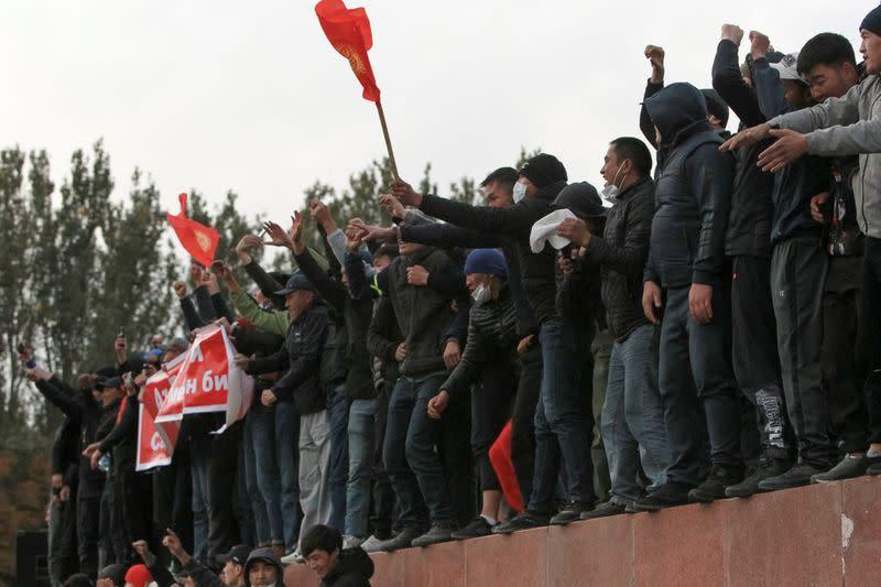 Kyrgyz president strengthens hold on power as new PM named