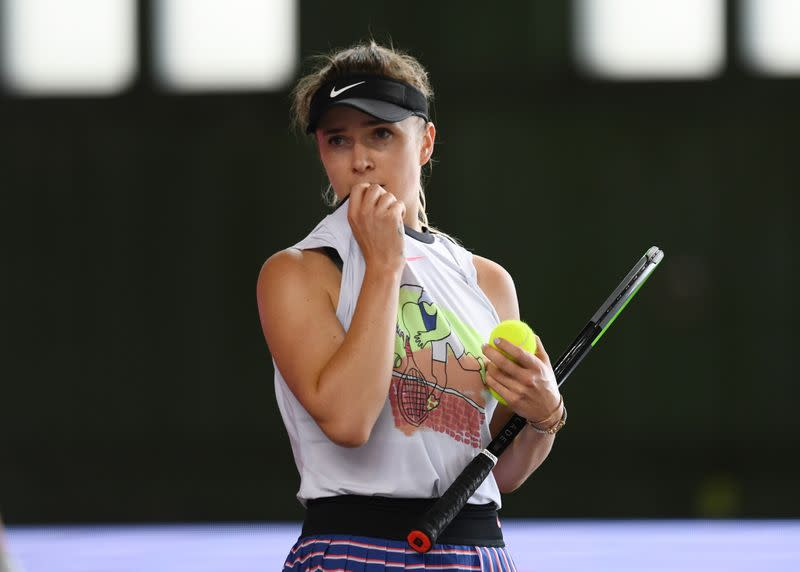 Top-10 players Svitolina, Bertens withdraw from U.S. Open