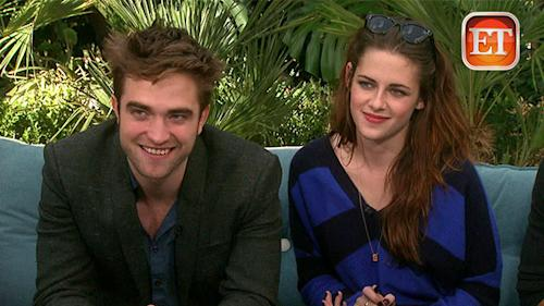 Rob Pattinson and Kristen Stewart's New Sit Down