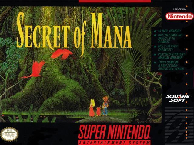 best snes games secret of mana