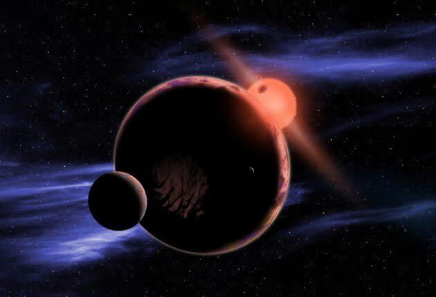 M-dwarf planet