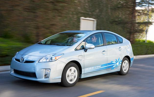 Prius Plug-In Ready to Charge