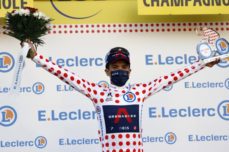 Tour de France 2020 - 107th Edition - 19th stage Bourg-en-Bresse - Champagnole 166,5 KM - 18/09/2020 - Richard Carapaz (ECU - Team Ineos) - photo POOL/BettiniPhoto©2020