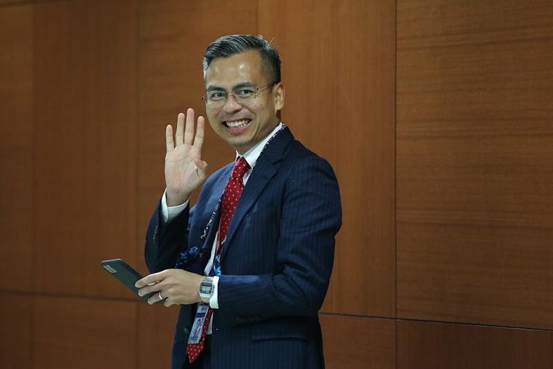 PKR communications director Fahmi Fadzil said the focus of PH now is to strengthen the core of the coalition. — Picture by Yusof Mat Isa