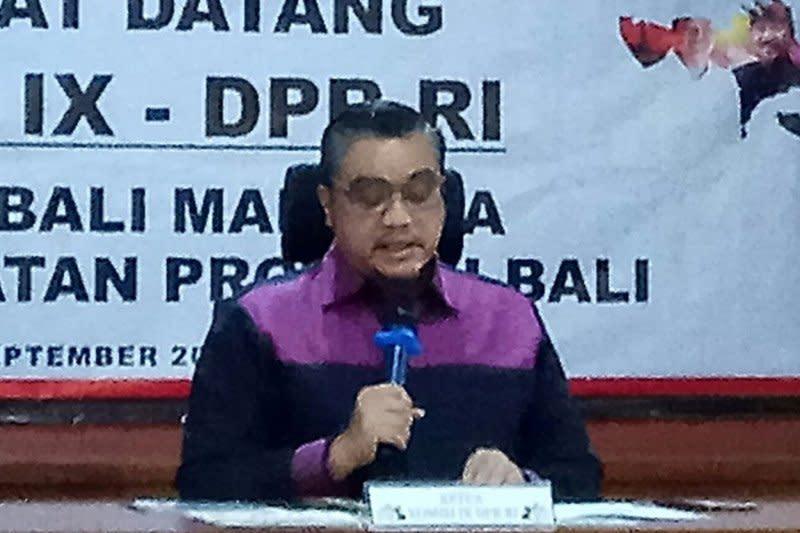 DPR ingin revisi UU SKN tingkatkan prestasi semua cabang olahraga
