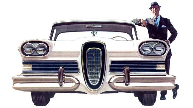 "November 8: Ford chooses ""Edsel"" for its new models on this date in 1958"