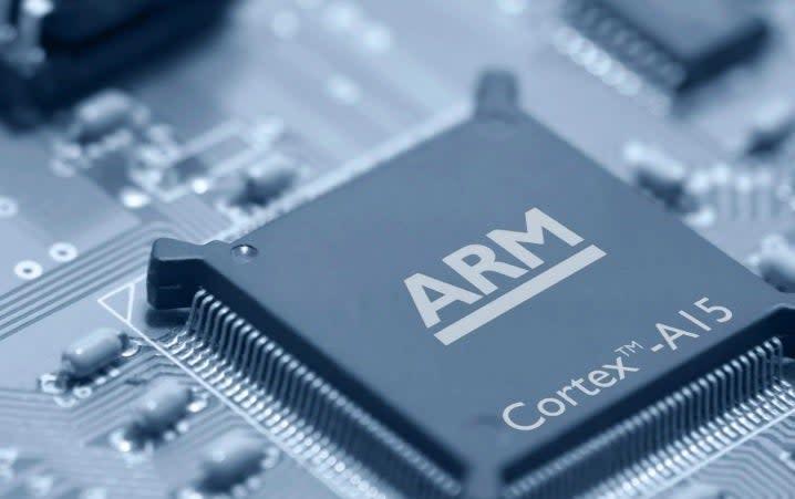 ARM chip: ARM website