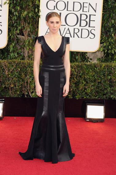 70th Annual Golden Globe Awards - Arrivals: Zosia Mamet