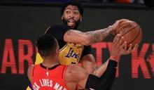NBA季後賽湖人3連勝聽牌 火箭面臨淘汰