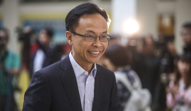 Patrick Nip, Hong Kong's civil service chief, on Sunday used his blog to defend against accusations that the city's firing policy for staffers on probation violated the presumption of innocence. Photo: Winson Wong