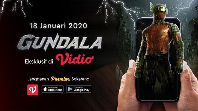 Tayang Eksklusif Film Gundala Hanya di Vidio