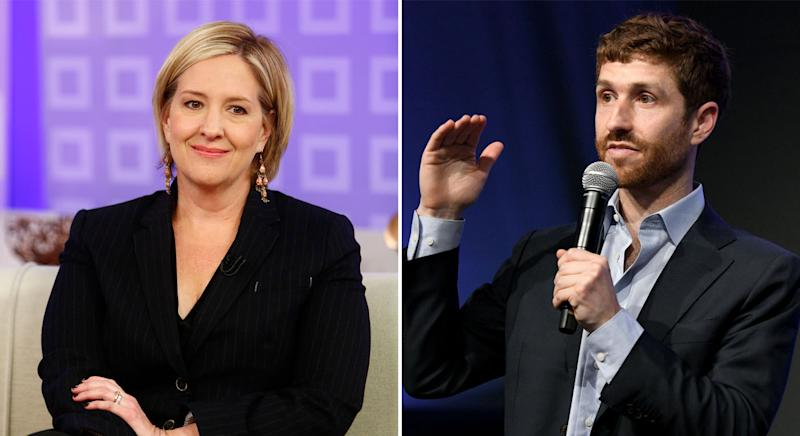 Brene Brown and Tristan Harris can count Harry and Meghan as fans. (Getty images)