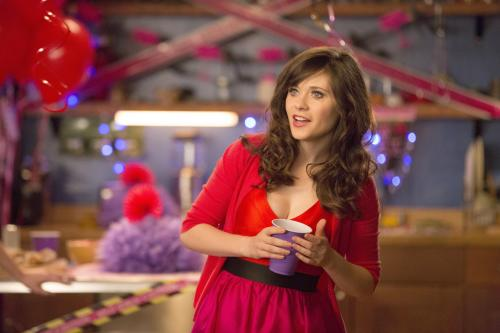 "This publicity image released by Fox shows Zooey Deschanel in a scene from ""New Girl."" (AP Photo/Fox)"