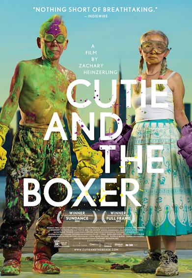 """""""Cutie And The Boxer"""" Poster"""