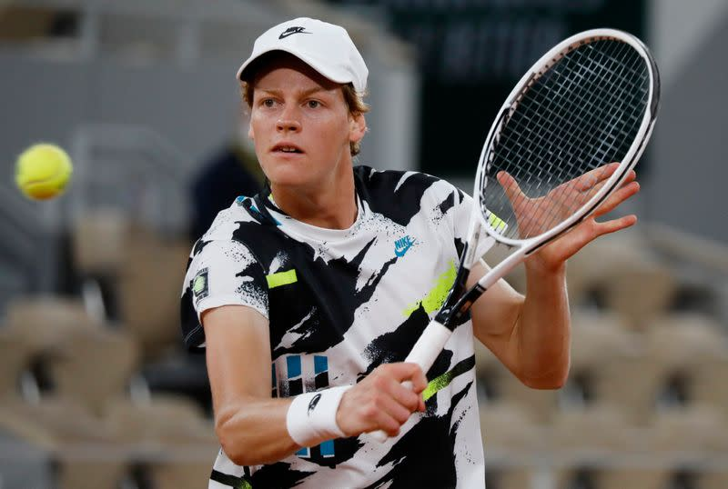 In-form Sinner looks to continue dream run in battle with Zverev