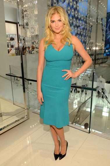 Michael Kors Celebrates Fashion's Night Out: Kate Upton