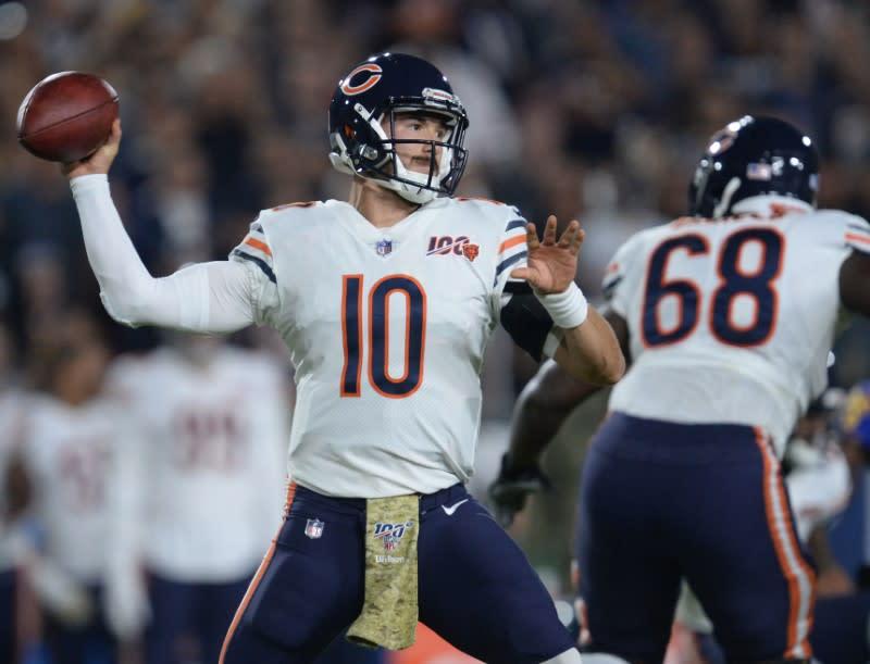 Bears QB Trubisky will start against Giants