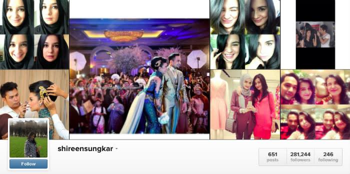 shireen sungkar instagram