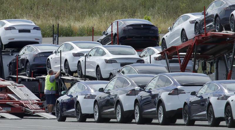 US Tesla Deliveries