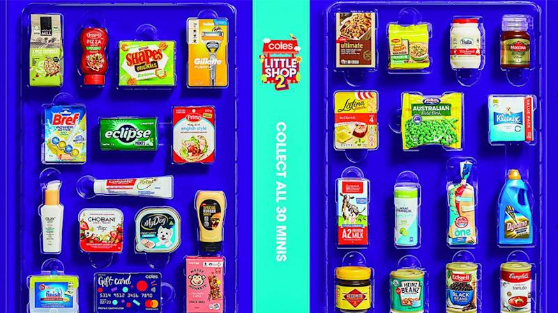 Little Shop collectables have launched in Coles stores, however people are confused whether, like last time, there is a limit. Source: Supplied.