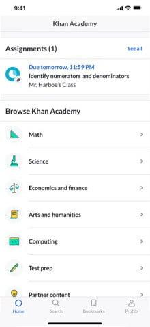 best educational apps khan academy 1