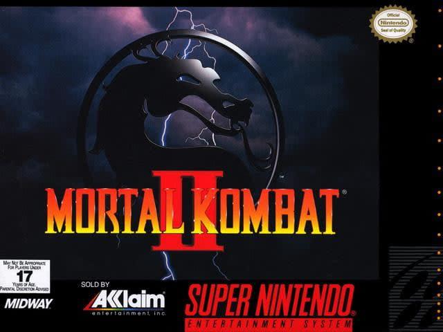 best snes games mortal kombat ii