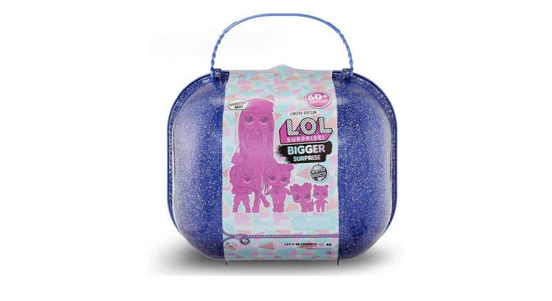 L.O.L. Surprise! Bigger Surprise Winter Disco with Exclusive O.M.G. Doll