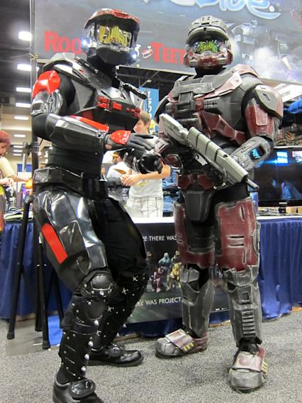 Ready for combat - San Diego Comic-Con 2012