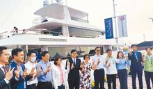 台灣製造 125呎最長遊艇亮相